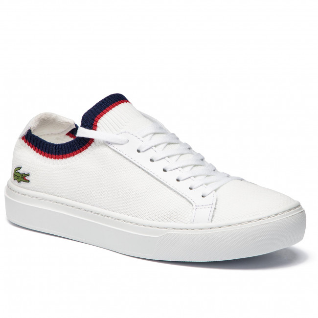 d9aaaea32 Sneakers LACOSTE - La Piquee 199 1 Cma 7-37CMA0038407 Wht/Nvy/Red -  Sneakers - Low shoes - Men's shoes - efootwear.eu