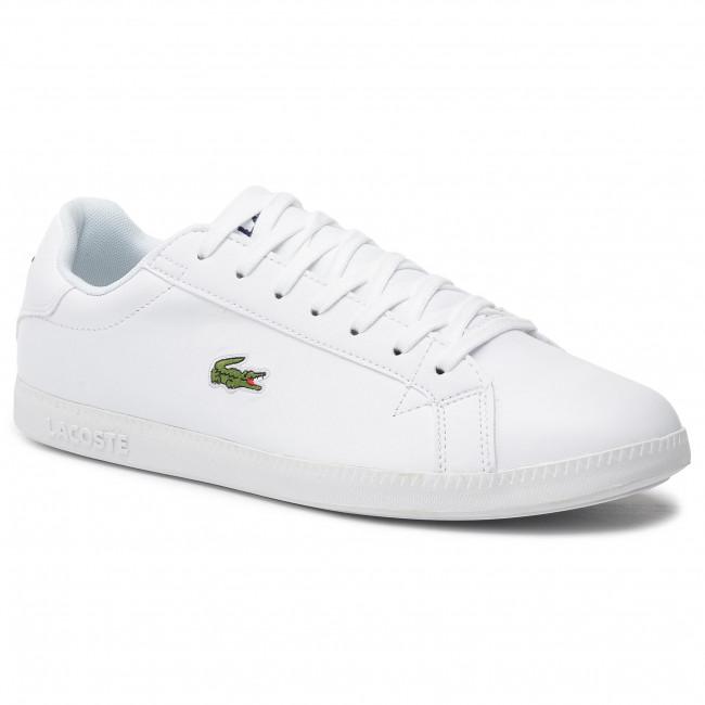 Lacoste 737sma005321g 1 Sneakers Whtwht Sma Bl Graduate 6y7Ybfg
