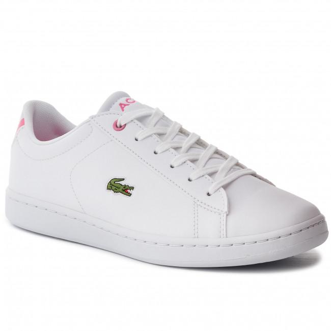 Sneakers LACOSTE - Carnaby Evo Bl 2 Suj 7-37SUJ0012B53 Wht/Pnk