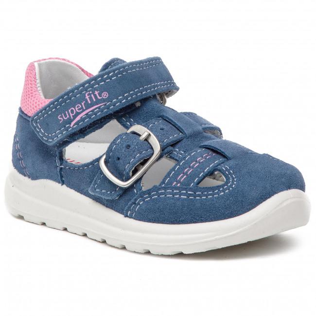 Sandals SUPERFIT - 4-00430-81 M Blau/Rosa