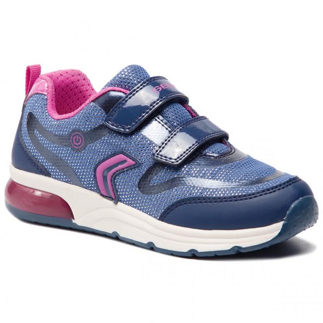 Sneakers GEOX J Spaceclub G. C J928VC 0GNBC C4268 S NavyFuchsia