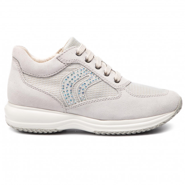 Geox Respira Happy D5462C Women's Shoes Sneakers Leather