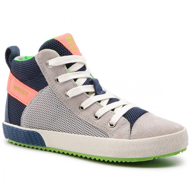 Sneakers GEOX J Alonisso B.H J922CH 01422 C1040 S GreyFluo Orange