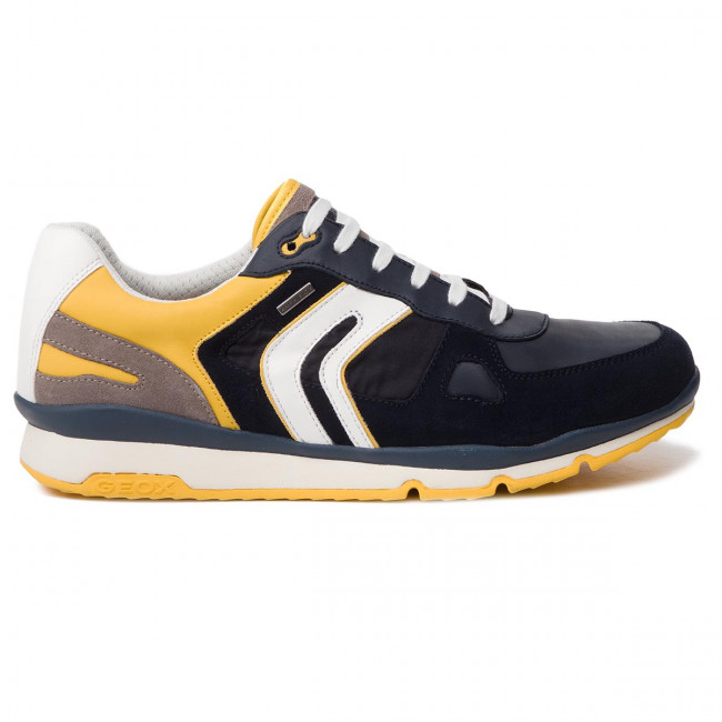 Sneakers GEOX U Sandford B Abx A U92S7A 022FU CF42M NavyLt Yellow
