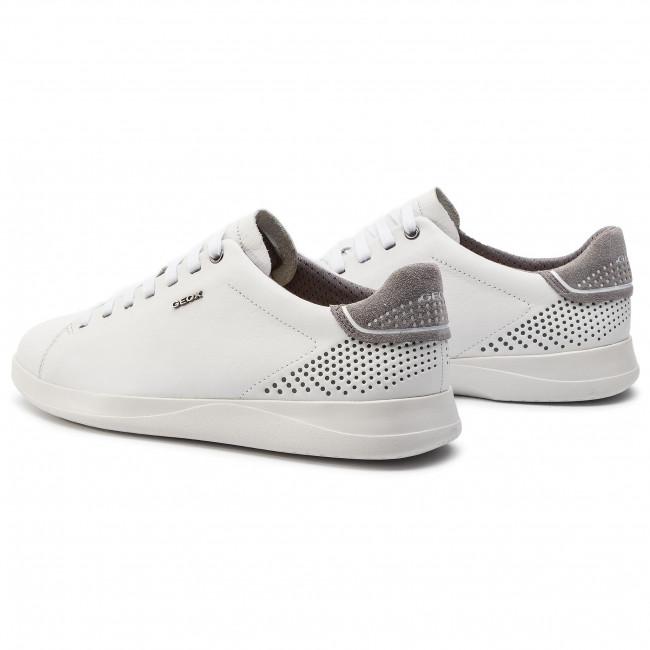 mental Genuino ingeniero  Sneakers GEOX - U Kennet B U926FB 00085 C1000 White - Sneakers - Low shoes  - Men's shoes | efootwear.eu