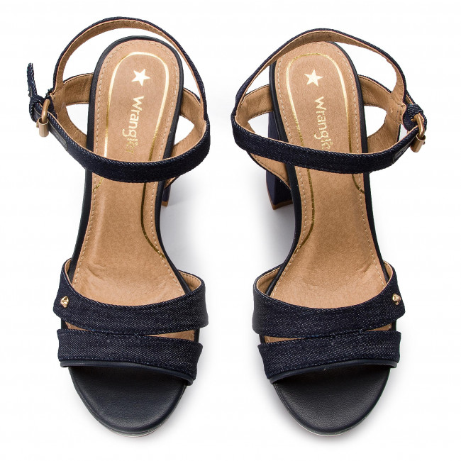 Sandals Wrangler - America Alicia Wl91610a Navy 016 Casual Mules And Women's Shoes