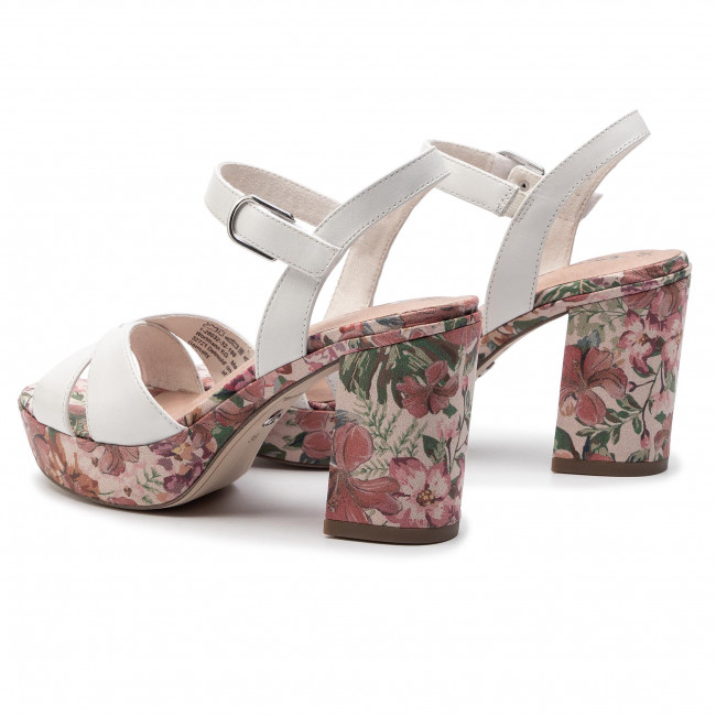Sandals TAMARIS 1 28032 32 Wht Lea Comb 198