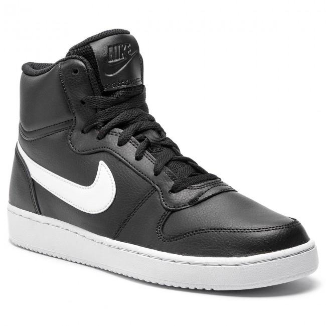 Marcha atrás vapor suficiente  Shoes NIKE - Ebernon Mid AQ1773 002 Black/White - Sneakers - Low shoes -  Men's shoes | efootwear.eu