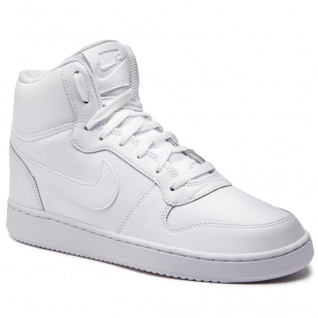Atlas representación parilla  Shoes NIKE - Ebernon Mid AQ1773 100 White/White - Sneakers - Low shoes -  Men's shoes | efootwear.eu