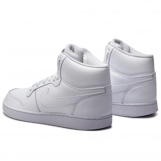 Shoes NIKE Ebernon Mid AQ1773 100 WhiteWhite