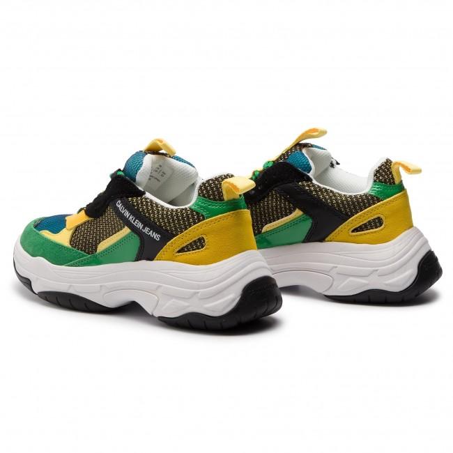 Maya R7798 Black/Green/Lemon