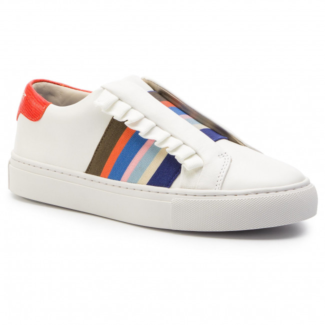 Ruffle Sneaker 56602 Snow White