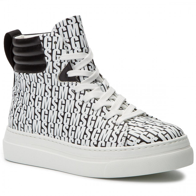 Sneakers MSGM - Cupsole Sneakers 2641MDS614 210 99 Black White