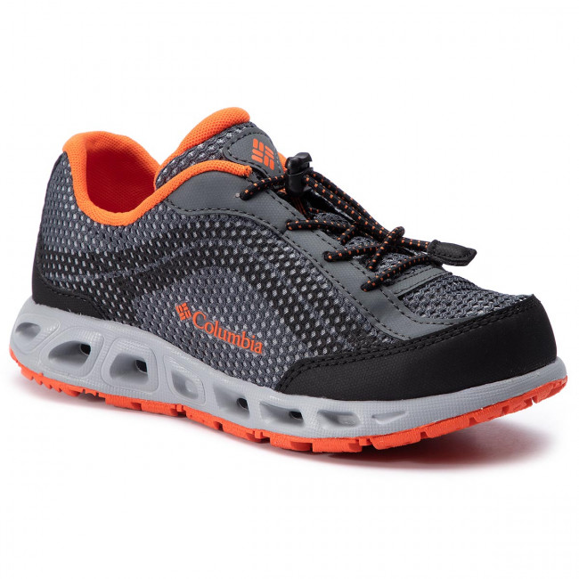 Trekker Boots COLUMBIA - Youth Drainmaker IV BY1091 Graphite/Tangy Orange 053