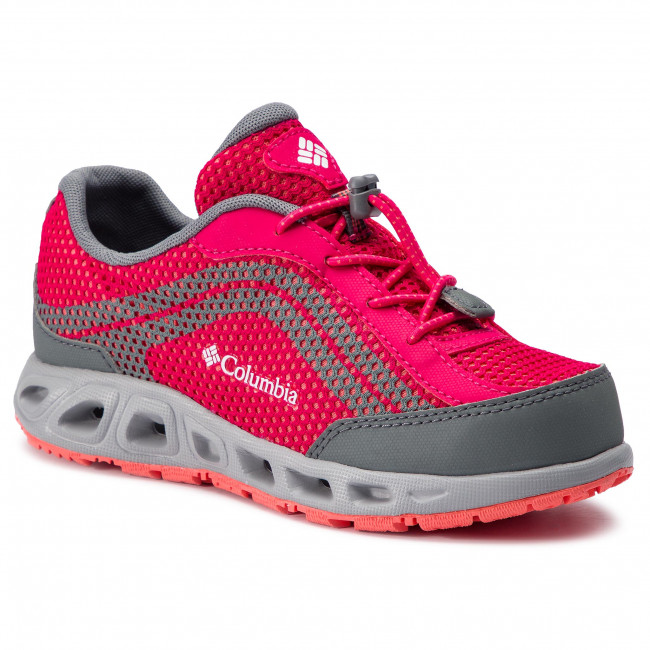 Trekker Boots COLUMBIA - Youth Drainmaker IV BY1091 Bright Rose/Hot Coral 600