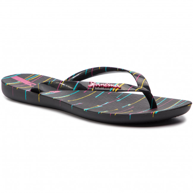 Slides IPANEMA - Wave Art Fem 26287 Black/Black 20780