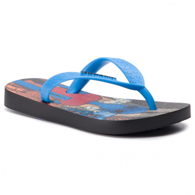 4606f6a03bc Slides IPANEMA - Classic VII Kids 82536 Black/Blue 20756 - Flip-flops -  Clogs and sandals - Boy - Kids' shoes - efootwear.eu