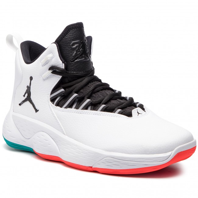 Jordan Super.Fly MVP Shoes NIKE - Jordan Super.Fly Mvp AR0037 103 White/Black Turbo ...