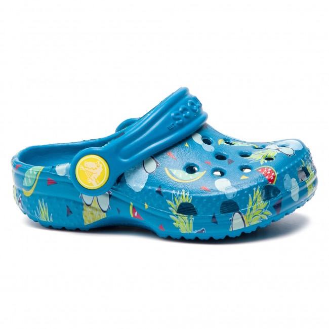 Slides CROCS Classic Summer Fun Clog K 202623 Ultramarine