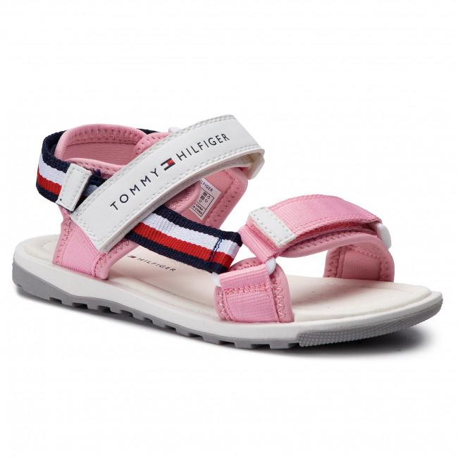 Tommy Hilfiger girls' pink flip flops · Tommy Hilfiger