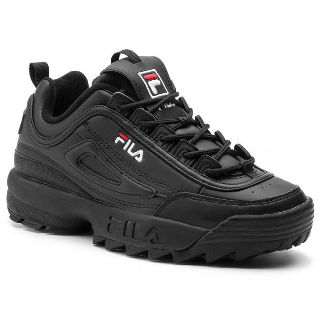 fila black sneakers shoes \u003e Clearance shop
