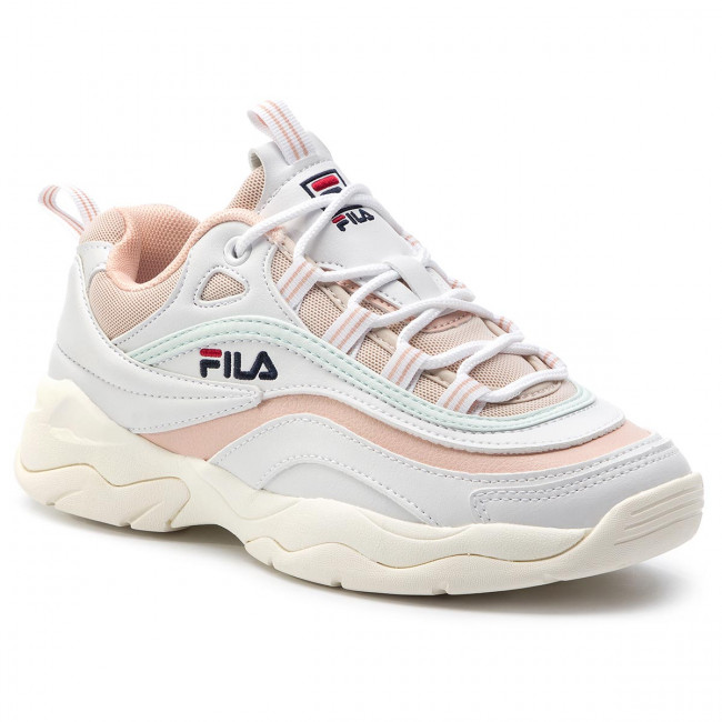 Sneakers FILA - Ray Low Wmn 1010562.02Y White/Spanish Villa/Morning Mist