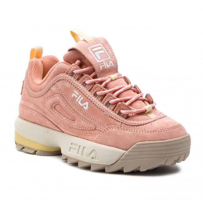 2634bb0757339 Sneakers FILA - Disruptor S Low Wmn 1010605.71B Salmon - Sneakers ...