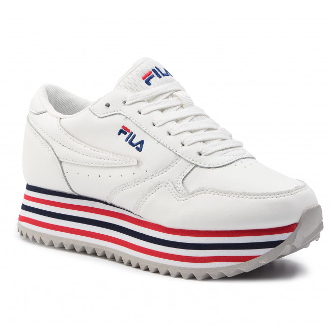 Sneakers FILA - Orbit Zeppa Stripe Wmn 1010667.02P White/Stripe