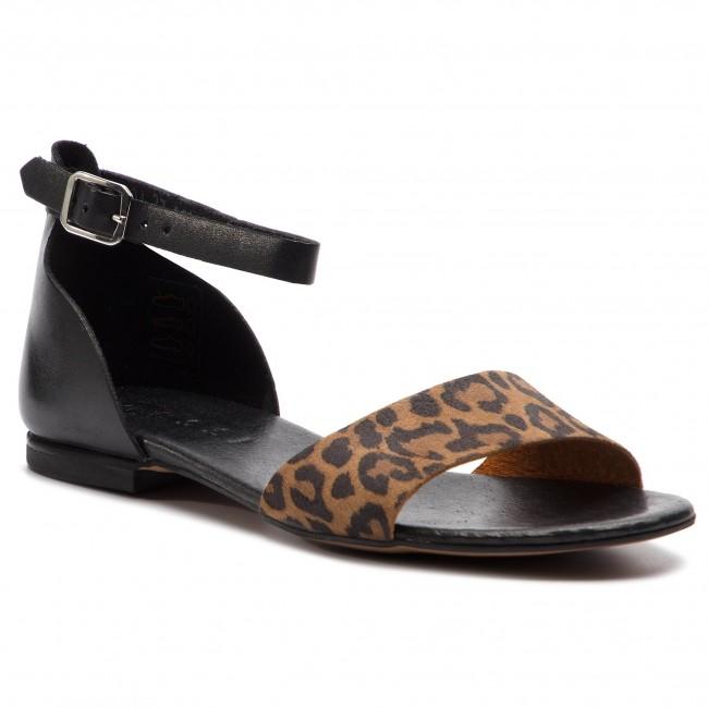 Sandals NESSI - 49204 Czarny/Pantera
