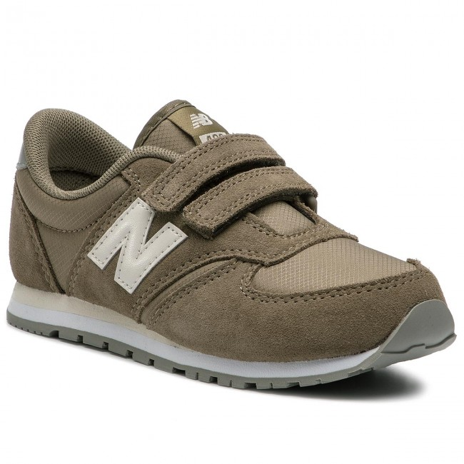 Sneakers NEW BALANCE - YV420GB Green - Velcro - Low shoes - Boy ...