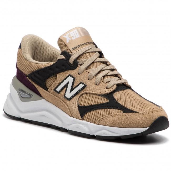 new balance sneakers marron femme