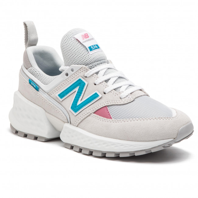 fe5e765b6bb27 Sneakers NEW BALANCE - WS574PRA Grey - Sneakers - Low shoes ...