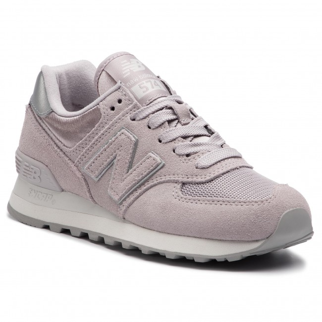 219f99b321946 Sneakers NEW BALANCE - WL574LCS Purple - Sneakers - Low shoes ...