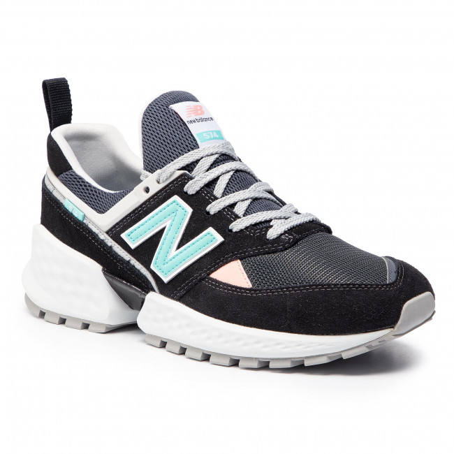 info for 37cdf 24e5d Sneakers NEW BALANCE - MS574GNB Black Colourful