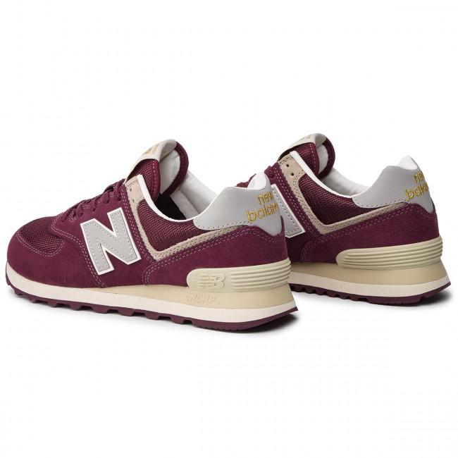 George Stevenson de biblioteca  Sneakers NEW BALANCE - ML574VLB Dark Red - Sneakers - Low shoes - Men's  shoes | efootwear.eu
