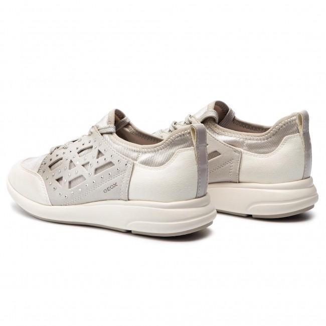 Prefacio Meloso rock  Sneakers GEOX - D Ophira B D821CB 015QD C1209 Off White/White ...