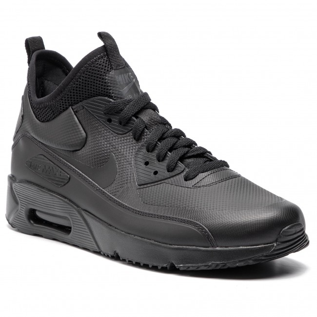 quality design 78d2f e9545 Shoes NIKE - Air Max 90 Ultra Mid Winter 924458 004 Black/Black/Anthracite
