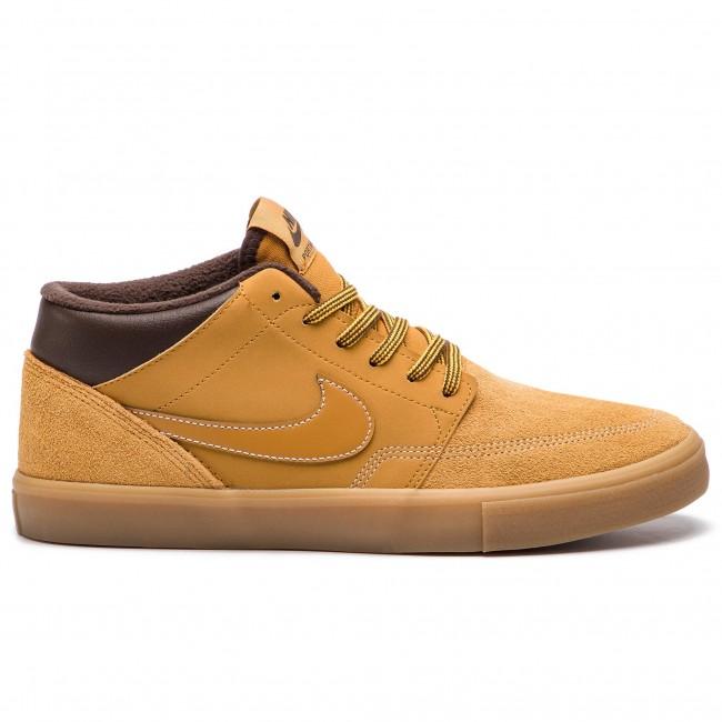 b72db73336 Shoes NIKE - Sb Portmore II Slr M Bota AJ6978 779 Bronze/Bronze/Gum ...