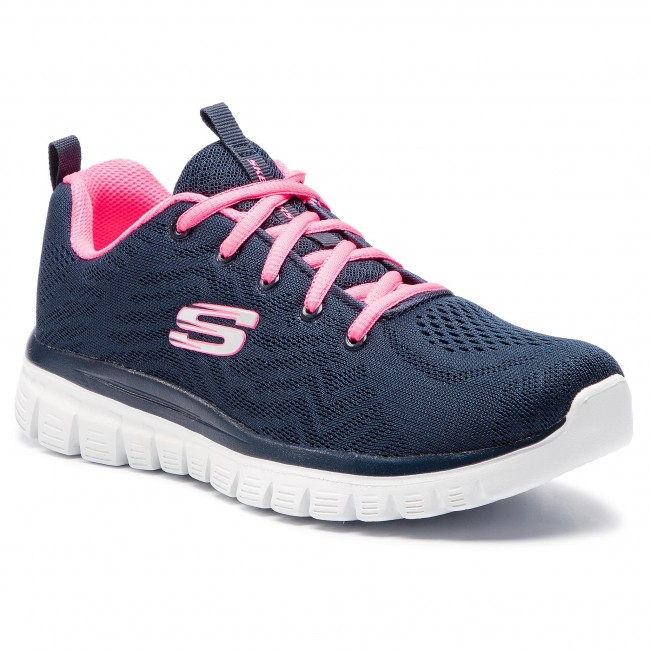 hierba Industrial marrón  Shoes SKECHERS - Get Connected 12615/NVHP Navy/Hot Pink - Fitness - Sports  shoes - Women's shoes   efootwear.eu