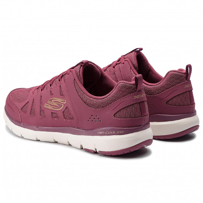 Skechers 13061 Flex Appeal 3.0 – Billow Burgundy | Ladies