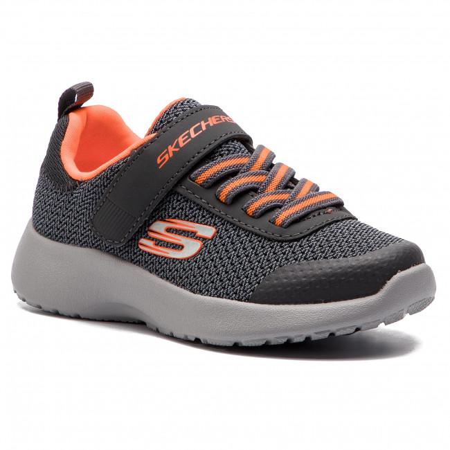 Shoes SKECHERS - Ultra Torque 97770L/CCOR Charcoal/Orange