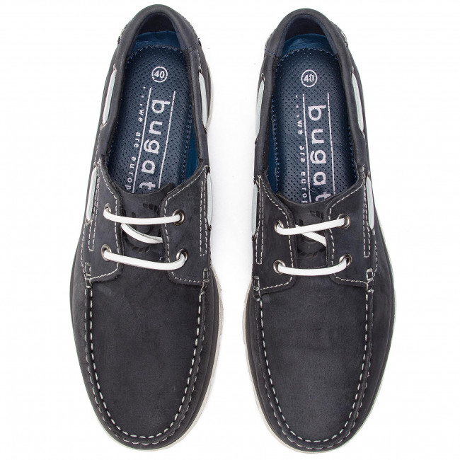 Moccasins BUGATTI - 321-69201-1500-4100 Dark Blue - Moccasins - Low shoes - Men's shoes