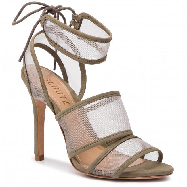 Sandals SCHUTZ - S 01387 1473 0001 U Cru/Aspen Green