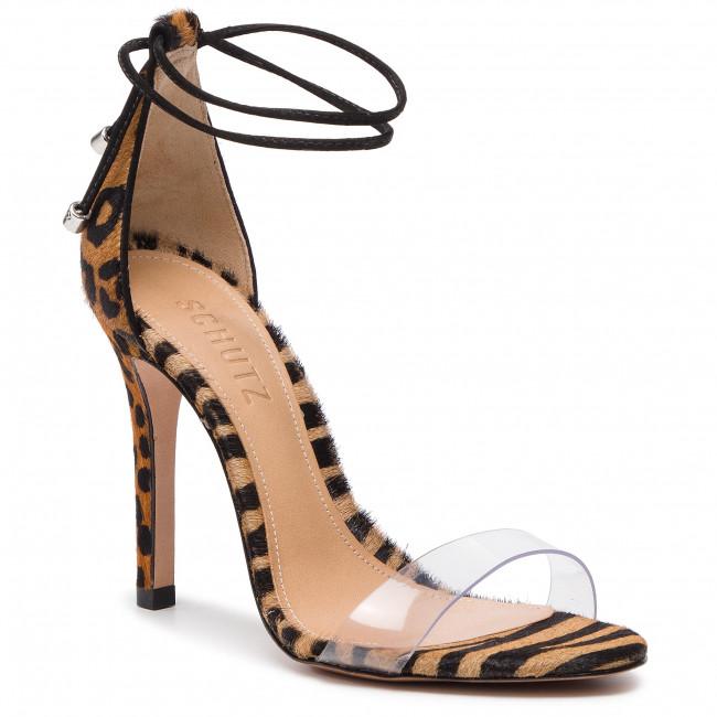 Sandals SCHUTZ - S 01387 1355 0017 U Sandstone/Black/Transparente