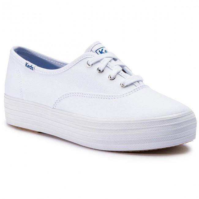 Plimsolls KEDS - Triple WF49946 White