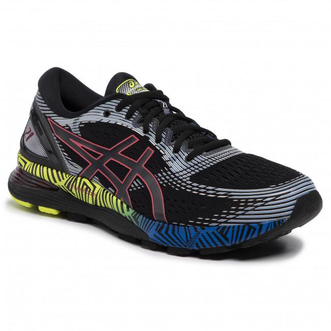 Shoes ASICS Gel Nimbus 21 Ls 1011A632 BlackElectric Blue 001