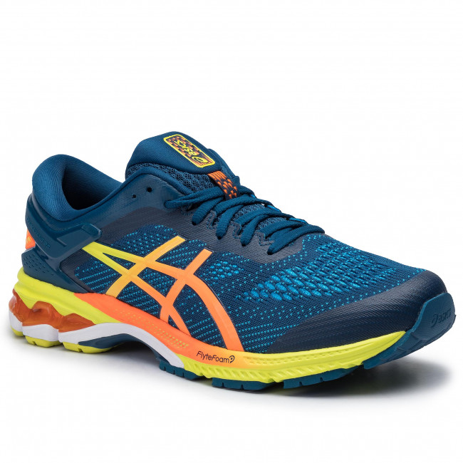 Shoes ASICS Gel Kayano 26 1011A712 Mako BlueSour Yuzu 400