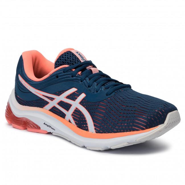 Shoes ASICS Gel Pulse 11 1012A467 Mako BlueSun Coral 401