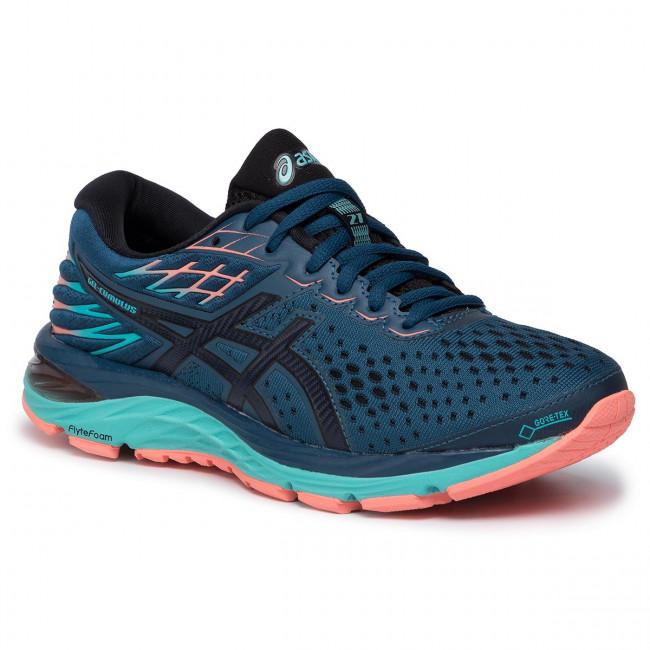 Shoes ASICS Gel Cumulus 21 G Tx GORE TEX 1012A487 Mako BlueMidnight 400