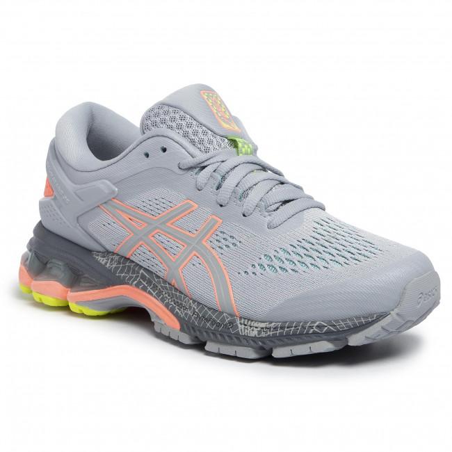 Shoes ASICS Gel Kayano 26 LS 1012A536 Piedmont GreySun Coral 020